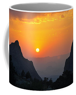 Sunset In Big Bend National Park Coffee Mug