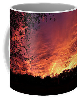 Sunset In Blue Ridge Foothills Coffee Mug