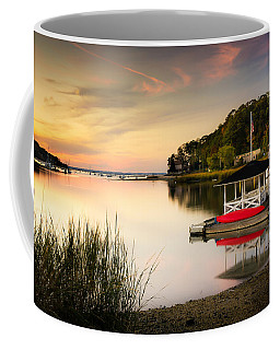 Sunset In Centerport Coffee Mug