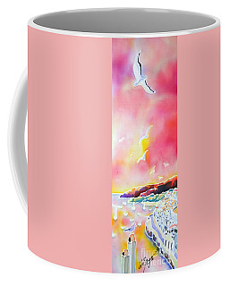 Sunset In Costa Brava Coffee Mug
