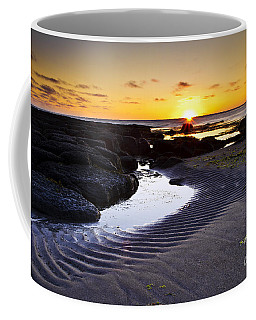 Coffee Mug featuring the photograph Sunset In Iceland by Gunnar Orn Arnason