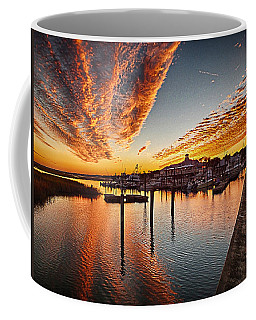 Sunset In Murells Inlet Coffee Mug