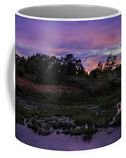 Sunset In Purple Along Highway 7 Coffee Mug by Peter v Quenter