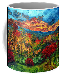 Sunset In Shenandoah Valley Coffee Mug