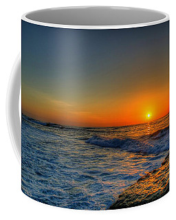Sunset In The Cove Coffee Mug