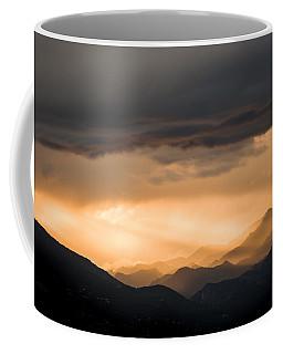 Sunset In The Mountains Coffee Mug