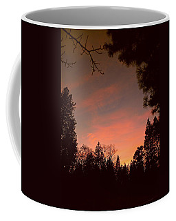 Sunset In Winter Coffee Mug