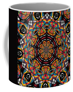 Sunset K 88 Kaleidoscope Coffee Mug