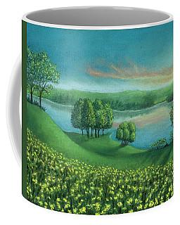 Sunset Lake A Coffee Mug