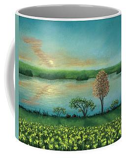 Sunset Lake B Coffee Mug