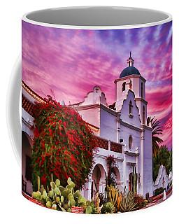 Sunset Mission San Luis Rey De Francia By Diana Sainz Coffee Mug