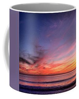 Sunset Moon Rise Coffee Mug