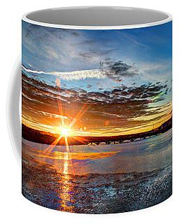 Sunset On 10th Street Bridge Coffee Mug