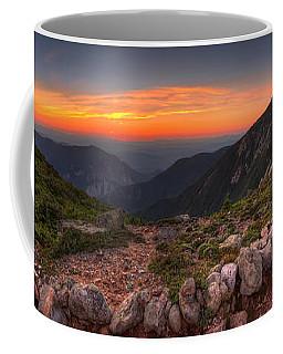 Sunset On Franconia Ridge Coffee Mug