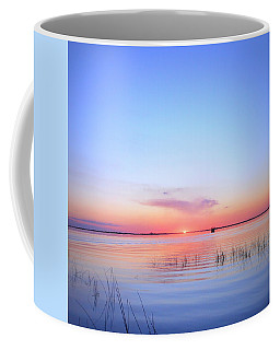 Sunset On Lake Washington Coffee Mug by Kay Gilley