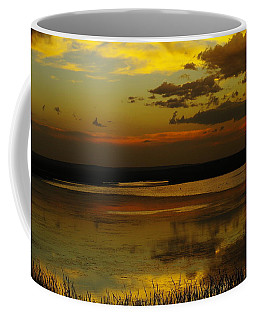 Sunset On Medicine Lake Coffee Mug