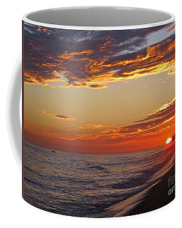 Sunset On Newport Beach Coffee Mug