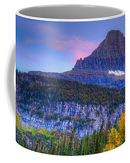 Sunset On Reynolds Mountain Coffee Mug