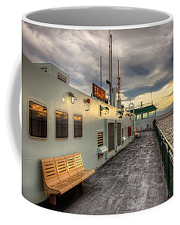 Sunset On Salish Coffee Mug