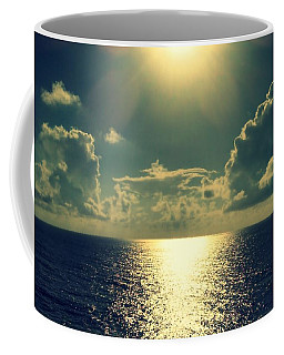 Sunset On The Atlantic Ocean Coffee Mug