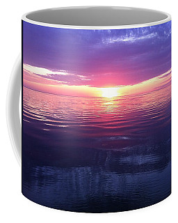 Coffee Mug featuring the photograph Sunset On The Bay by Tiffany Erdman