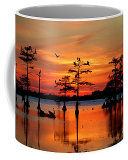 Sunset On The Bayou Coffee Mug