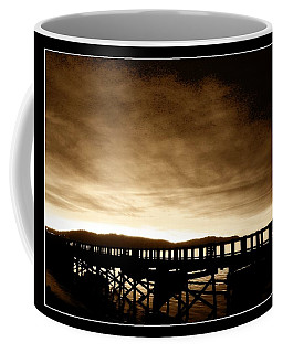 Sunset On The Boardwalk Coffee Mug