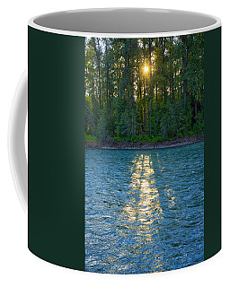 Sunset On The Bulkley Coffee Mug