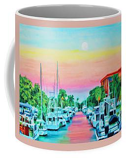 Sunset On The Canal Coffee Mug