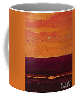 Sunset On The Pier Coffee Mug by Gail Kent