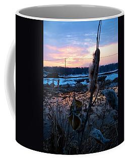 Sunset On The Pond Coffee Mug