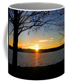 Sunset On The Potomac Coffee Mug