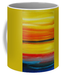 Sunset On The Puget Sound Coffee Mug by Jani Freimann