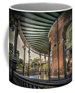 Sunset On The Veranda Coffee Mug