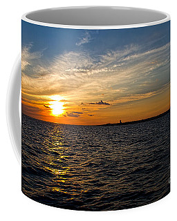 Coffee Mug featuring the photograph Sunset On The Water In Provincetown by Eleanor Abramson