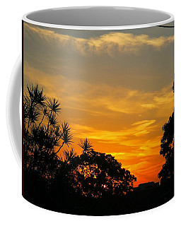 Sunset On My Way Home Coffee Mug by Leanne Seymour