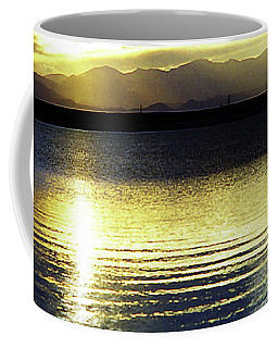 Sunset Over Aurora Coffee Mug