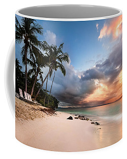 Sunset Over Bacardi Island Coffee Mug by Mihai Andritoiu
