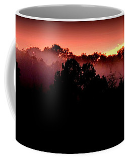 Sunset Over Blue Horse Rescue Coffee Mug
