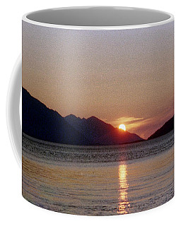 Sunset Over Cook Inlet Alaska Coffee Mug