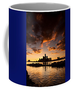 Sunset Over Detroit Coffee Mug