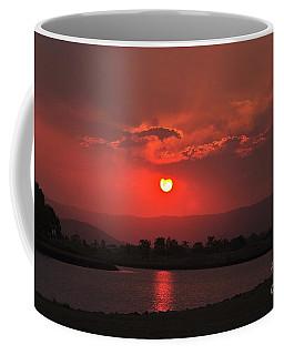 Sunset Over Hope Island Coffee Mug