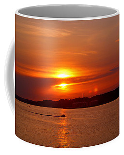 Sunset Over Lake Ozark Coffee Mug