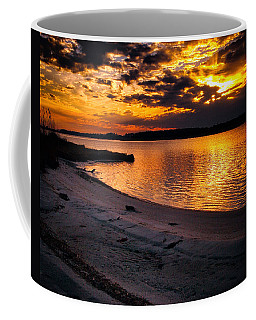 Sunset Over Little Assawoman Bay Coffee Mug
