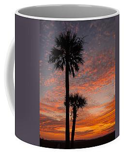 Sunset Over Marsh Coffee Mug