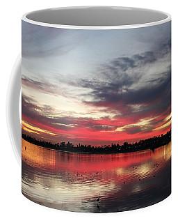 Sunset Over Mission Bay  Coffee Mug