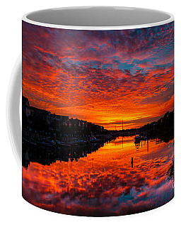 Sunset Over Morgan Creek - Wild Dunes Resort Coffee Mug