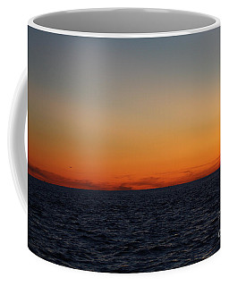 Coffee Mug featuring the photograph Sunset Over Point Lookout by John Telfer