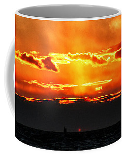 Sunset Over Sound Coffee Mug