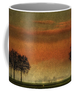 Sunset Over The Country Coffee Mug